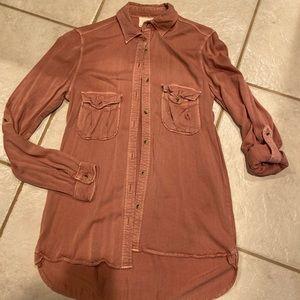 Harper Mauve Button Up Shirt